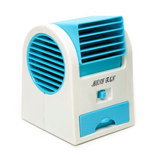 Adjustable Blue Angles Scented USB Electric Air Conditioning Mini Fan Air Cooler