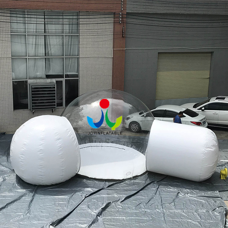 Blow Up Structure Inflatable Clear Dome tent 1-2