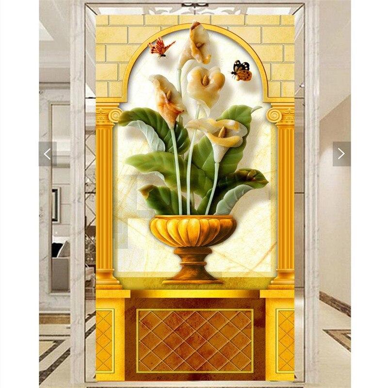 beibehang Wallpaper 3d Art Mural Continental High Definition Tarot Classic  Vase Cap Home Furnishings Modern Mural