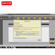 Can Clip for Renault V170 Software CD(Hong Kong)