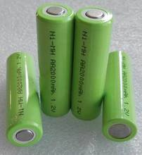 AA,10 pieces,Ni Mh,2000mAh,discharge 1C,rechargeable battery,power battery,Vacuum cleaner battery