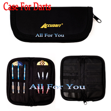 Professional Fabrics Dart Bags Bags Boxes Wallet For darts Oxford cloth Snap Pack Dart Case - Holds Two Set of Darts and Other(China)