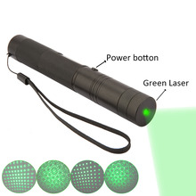 Green Laser Pen Portable 532nm Lazer 10000mw high power light burning lasers 303 presenter laser pointer extreme bright safe key