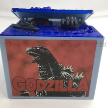2016 New Global Product Godzilla Musical Sound LED Lights Monster Movie Electronic Money Box Piggy Bank Coin Bank