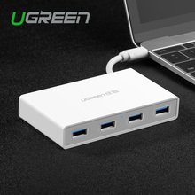 Ugreen USB 3.0 Hub Type C 4 ports High Speed USB Splitter With Charging Interface For Macbook PC Laptop Tablet Ethernet USB Hub