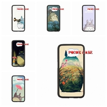For Sony Experia C S39h with Water transfer process iPhone 4 5s 5c 6 6s Plus iPod touch 4 5 Silicon Painting Totoro Caes Cover
