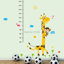bedroom Cartoon design diy wall stickers Children house home decor wall sticker decal Removable Kids Room Chrismas Gift favor