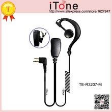 Itone Earpiece for Motorola XTN446 XTN500 XTN600 XV1100 XV2100 XV2600 XV4100 2 way Radio Earphone Headset Earpiece for Motorola