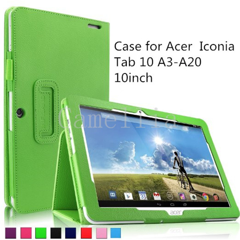 200Pcs/lot Folio PU Leather Slim Fit Stand Case for Acer Iconia Tab 10 A3-A20 10.1-Inch HD Tablet Only Acer Iconia Tab 10 A3-A20<br><br>Aliexpress