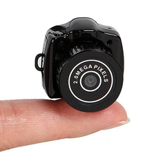 Time Owner Y2000 Hot Sale Mini Smallest HD Video Camera 480P Mini Pocket DV DVR Portable Camcorders Micro Digital Recorder USB(China)