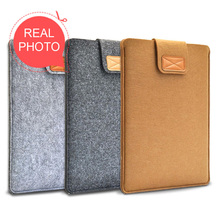 Original Wool felt Laptop Bag Sleeve Cover Case for 11 12 13 14 15 Inch Notebook Apple Air Pro Computer Protective pouch
