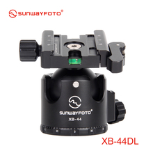 SUNWAYFOTO XB-44DL Low-Profile Tripod Head for DSLR Camera Tripode Ballhead  Professional  Monopod Panoramic Tripod Ball Head