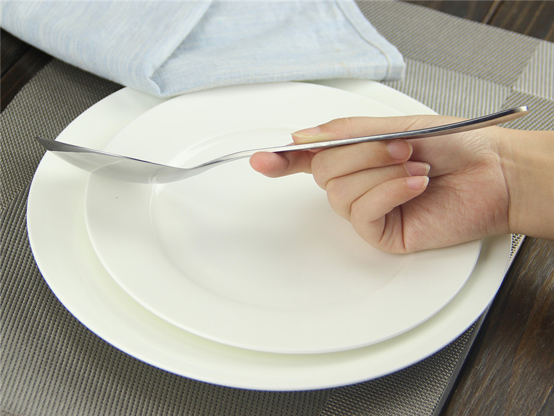 250 mm Stainless Steel Buffet Banquet Serving Curries Salads