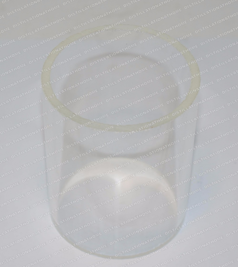 Borosilicate glass, outer diameter 80mm ,  lenght 100mm .<br><br>Aliexpress
