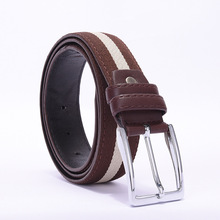 2017 men&women high quality canvas belts for jeans male luxury straps ceintures Waist Belt Unisex Waistband casual pants belt(China)