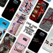 Pretty Little Liar TV Series Clear Case Cover Coque Shell for Samsung Galaxy S3 S4 S5 Mini S6 S7 Edge Plus(China)