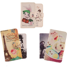 AIYINGE Cell Phone Holster PU Leather Card Slot Cartoon Flip Case For keneksi star protection accessories