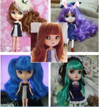 ICY Doll the same as Blyth doll , with makeup ,lower price,suitable for making up for her by yourself(China)