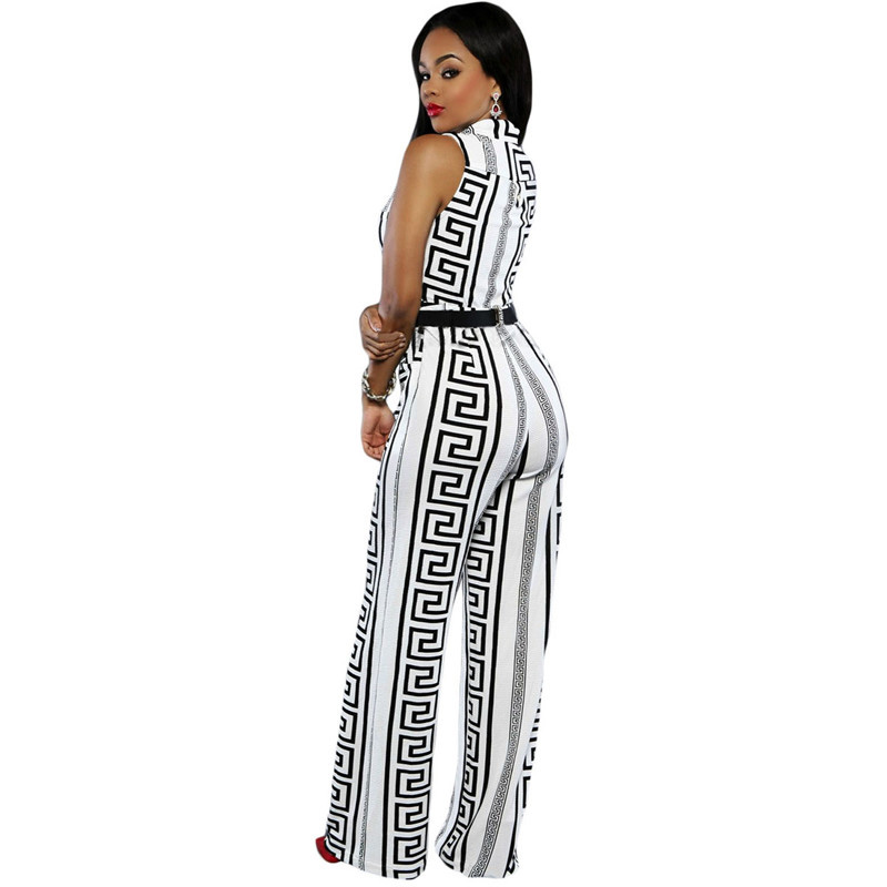 Dear-Lover-Wide-Leg-Jumpsuit-Overalls-2016-Long-Trousers-Outfits-Fashion-Women-Black-Print-Gold-Belted (3)
