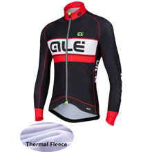 2017 Cycling Clothing Long Winter Thermal Fleece ALE Ropa Ciclismo Invierno Mtb Bike Clothes Cycling Jersey -8H3NS(China)