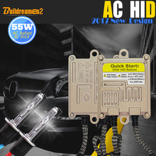 Buildreamen2 55W 9005 9006 880 881 H1 H3 H7 H8 H9 H11 HID Xenon Kit 6000K White AC Ballast Bulb Car Light Headlight Fog Lamp DRL(China)