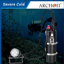 ARCHON DH40 Canister Diving Light CREE XM-L2 U2 LED*4 4000lm 150 Meters Underwater Rechargeable Dive Torch With Battery+Charger(China)