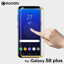 for Samsung S8 Screen Protector Mocolo Luxury Curved Edge 9H 3D Slim Tempered Glass for Samsung Galaxy S8 Plus Screen Protector(China)