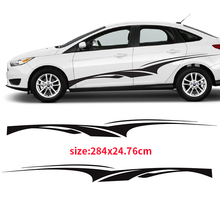 YONGXUN,2pcs Twisted Churro 3M Vinyl Sticker Graphic Decal Side Stripe Ca for Ford 15 2016 DR-2005