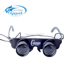 Agepoch Zoom Magnifier Optics Binoculars Feeder Carp Fly Tackle Peche Polaroid Goggles Telescope Fishing Glasses Eyewear