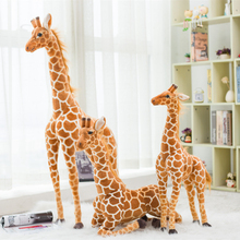 120CM Cute Simulation Giraffe Plush Toy Artificial Animal Plush Toy Doll Home Accessories Birthday Gift Toys Juguetes Brinquedos