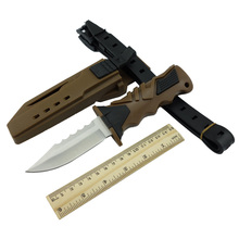 Diving Knife Leggings Outdoor Survival Tactical Camping Knives Fixed Blade Knife Free Shipping