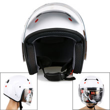 Motorcycle Vespa Helmet Casual Unisex Adult Men Women Summer Half Open Face Clear Sunvisor Lens Baymax White Black Floral