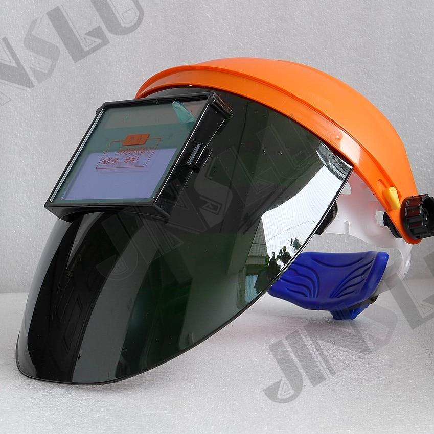 Light Weight 430g Good Ventilation Welding Helmet Solar Powered Auto Darkening Welding Mask Welding Glass Welder Cap TIG MIG MAG<br>