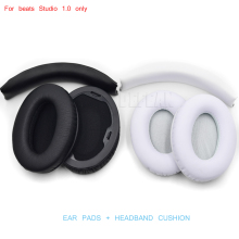 1 Set Replacement Ear Pads Cushions & headbands for Beat By Dr Dre Studio 1.0 Headset Cushion Headphones ( ear pads + headband(China)