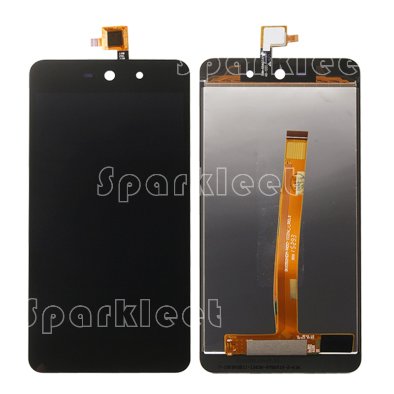 LCD Screen For Wiko Rainbow UP/Rainbow UP 4G LCD Display+Touch Screen Digitizer Assembly Replacement Black, Free Shipping<br><br>Aliexpress