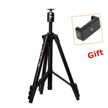 New Pro Aluminum 1.535M Camera Stand Tripod+Ball Head for SLR DSLR Digital Camera Gorillapod Tripode Max Load Weight 10KG BF568X(China)
