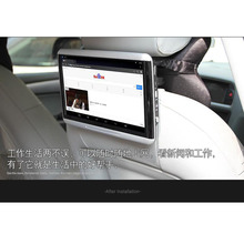 Two PCS Latest Android System Car Flip Down Monitor Best Buy Headrest DVD Player For Lincoln All Series Car Models