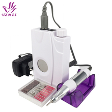 New Arrival 30000RPM Portable Electric Nail Drill Machine Rechargeable Cordless Manicure Pedicure Set For Nail Equipment(China)
