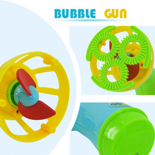 New Summer Funny Magic Bubble Blower Machine Bubble Maker Mini Fan Kids Outdoor Toys for girls boys children18Jan04(China)