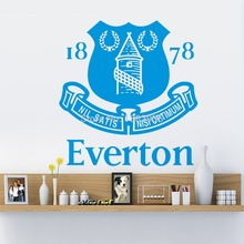 EVERTON ZY8366 Premier League team logo TV sofa backdrop waterproof removable custom stickers living room bedroom wall stickers