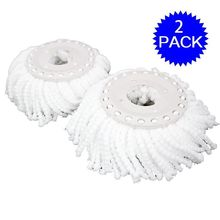 Goplus Lot Of 2 Replacement Mop Micro Head Refill For 360 Degree Easy Magic Microfiber Spinning Floor Mop Head CL11589(China)