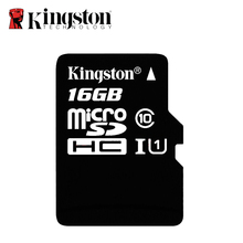 Kingston Micro SD Card 16GB Memory Card Mini carte sd SDHC/SDXC TF Card Flash 16gb UHS-I For Car GPS Navitation & Smartphone(China)