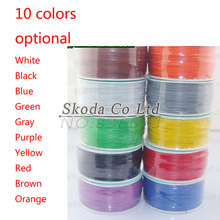Free Shipping High quality electrical Wire Wrapping Wire Wrap 10 colour can choose AWG30 Cable(China)