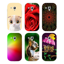 Buy Case Samsung Galaxy S Duos GT S7562 GT-S7562 7562 Trend Plus S7580 S7582 GT-S7580 GT-S7582 Cover Printed Cat Owl Phone Case for $2.66 in AliExpress store