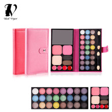 Ideal Vigor New Design 33 Color Eyeshadow Box Palette with Lip Glos Make Up Set  Shimmer Cosmetic Makeup Eye Shadow YY050