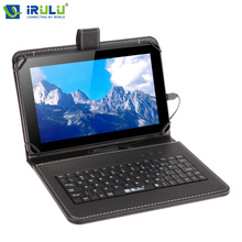 iRULU eXpro X1Pro 9'' Tablet PC 8G Quad Core Android 4.4 Tablet  Dual Cam Free Google Play Store Internet WiFi w/EN Keyboard Hot