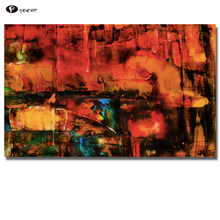 CHENFART no Framed Modern Canvas Pictures Abstract Canvas Painting vertical Tiling on Canvas Wall Pictures for Living Room(China)