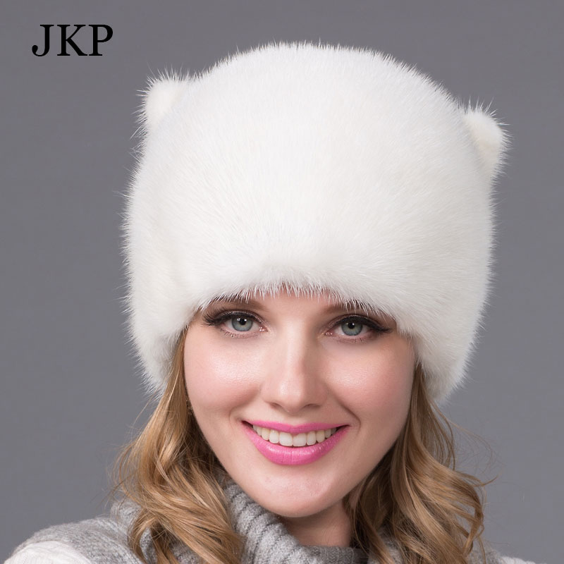 Winter fur hat for women real mink fur cap with flowers design Russia fashion good quality ladies luxury headgear Mink tailОдежда и ак�е��уары<br><br><br>Aliexpress