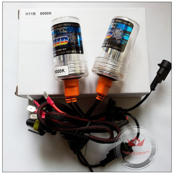 Night Lord 2pcs/pair Free Shipping Hottest Sales!!!High Quality 12V 35W Xenon HID H11B headlight car fog lights 6000K<br><br>Aliexpress