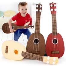 Mini Music Instrument Children Fruit Guitar Toy Traditional Music Kid Toy Gift Baby Musical Instrument Maracas Wooden Guitar Toy